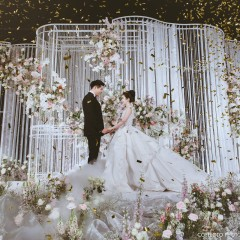 """Loving you gives meaning to my day"" Cherry & Pond's wedding"