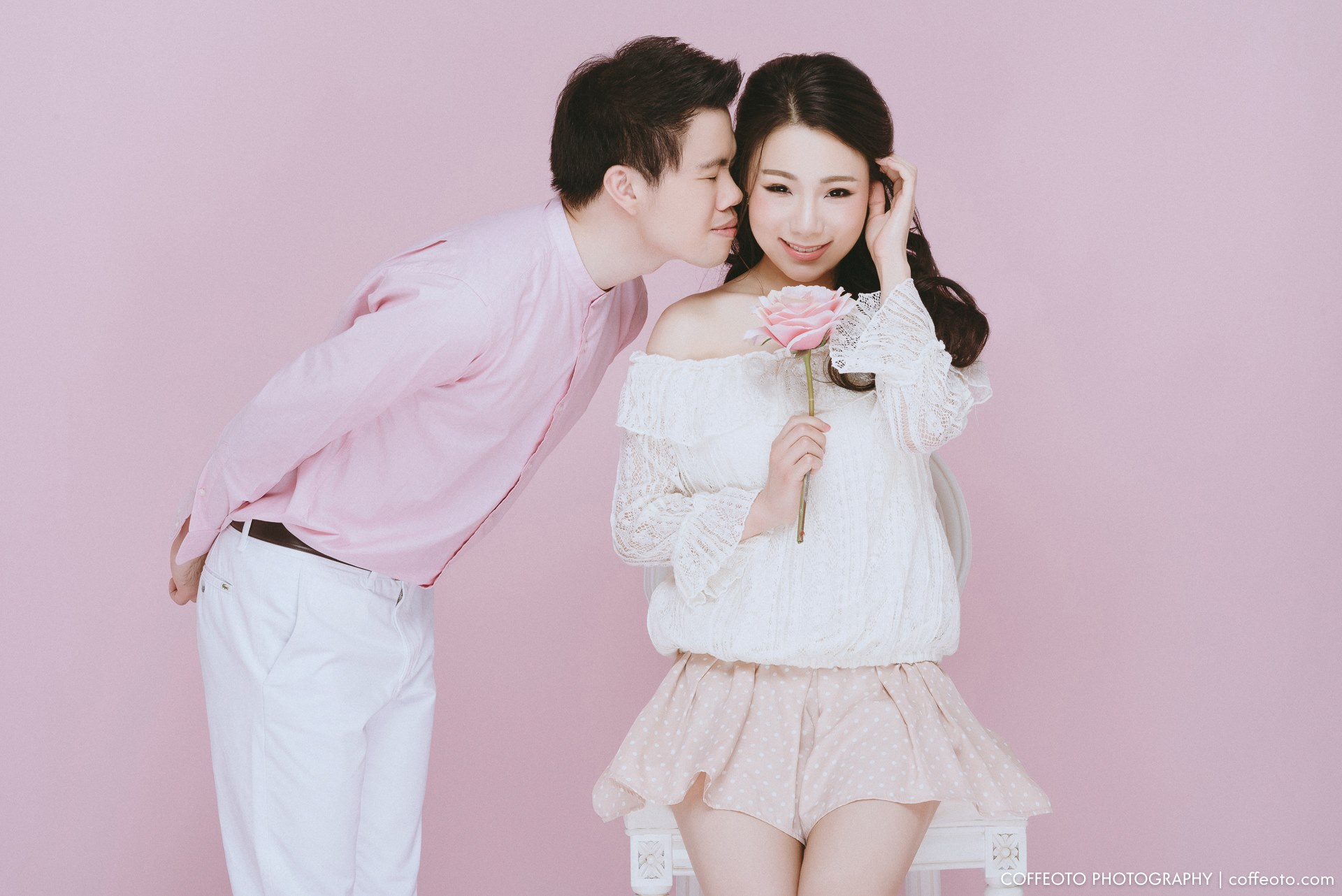 """I've got a crush on you"" Nozomi & Poon's pre-wedding session"